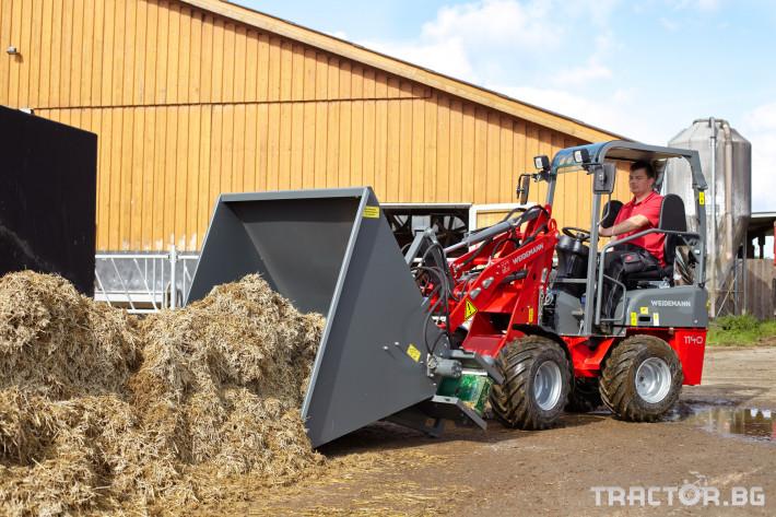 Машини за ферми Компактни товарачи Weidemann 1140 1