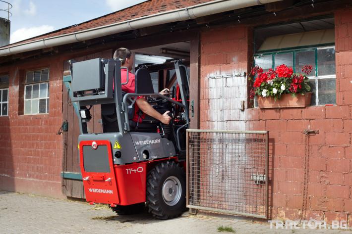 Машини за ферми Компактни товарачи Weidemann 1140 2