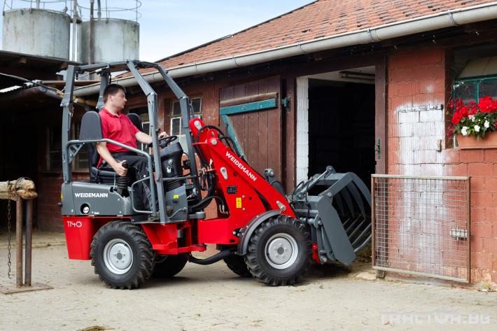 Машини за ферми Компактни товарачи Weidemann 1140 3