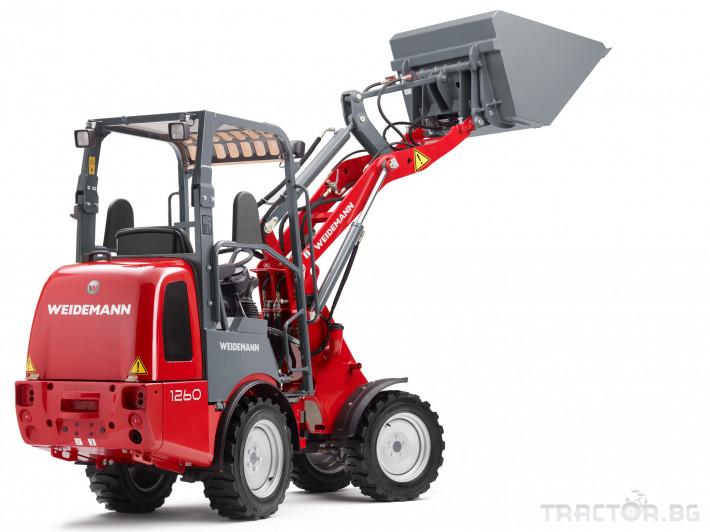 Машини за ферми Товарач Weidemann Hoftrac® 1260 4