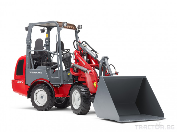 Машини за ферми Товарач Weidemann Hoftrac® 1260 7