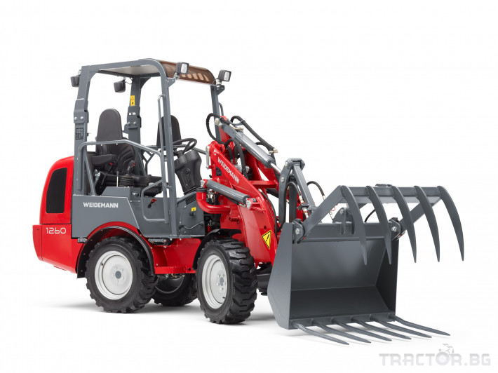 Машини за ферми Товарач Weidemann Hoftrac® 1260 3