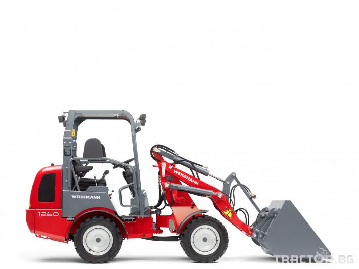 Машини за ферми Товарач Weidemann Hoftrac® 1260 5