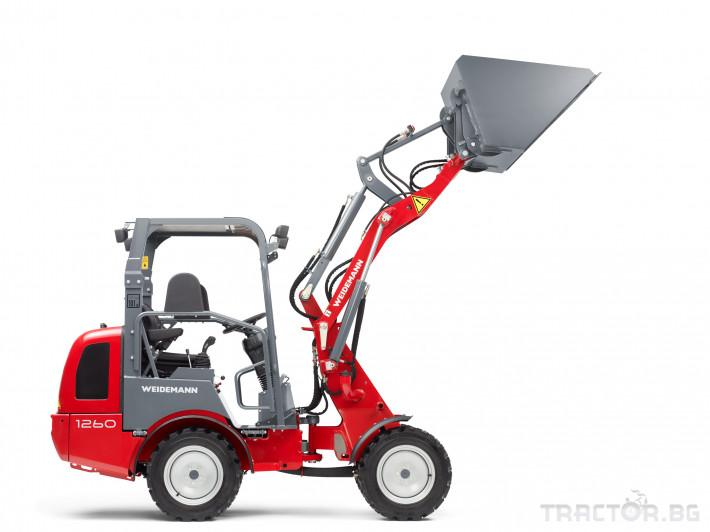 Машини за ферми Товарач Weidemann Hoftrac® 1260 6