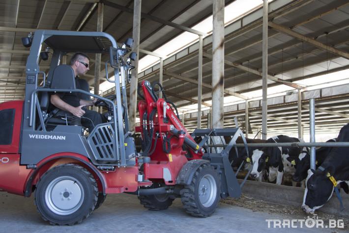 Машини за ферми Товарач Weidemann Hoftrac® 1260 0