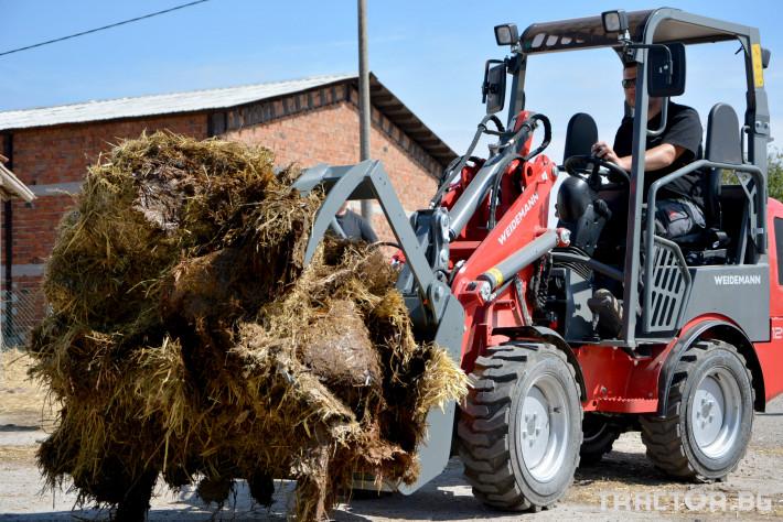 Машини за ферми Товарач Weidemann Hoftrac® 1260 2
