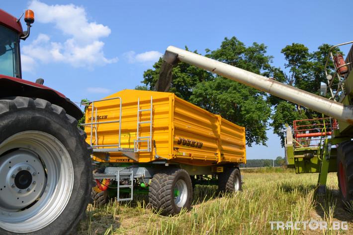 Ремаркета и цистерни Селскостопанско ремарке Joskin Tetra-Cap 6