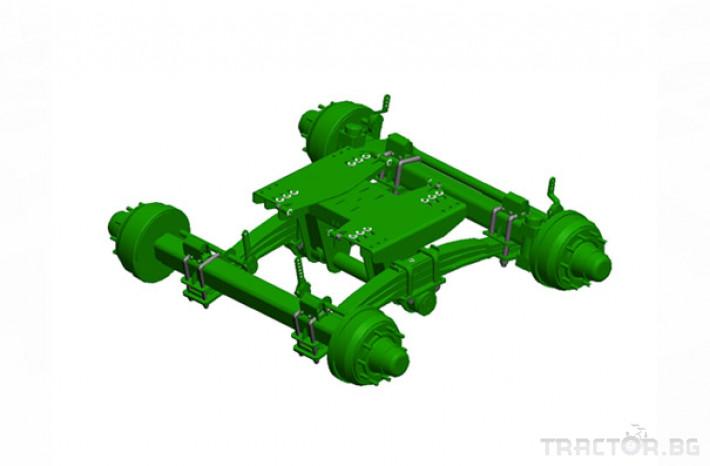 Ремаркета и цистерни Селскостопанско ремарке Joskin Trans-Space 3