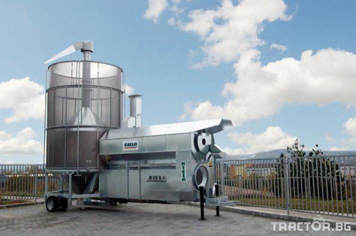 Обработка на зърно Мобилна циркулационна сушилня Riela GTR2500 1